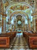 Baroque Church Prague, Czech Republic Royalty Free Stock Photography