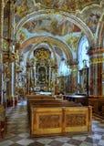 Baroque Church Prague, Czech Republic Royalty Free Stock Photo