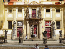 Baroque Church Prague, Czech Republic Stock Images