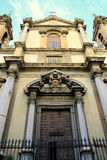 Baroque church. S. Ingnazio Olivella, Palermo royalty free stock photography