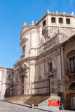 The baroque church of San Giuliano in the city center of Catania Royalty Free Stock Photo
