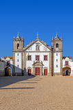 Baroque church in the Sanctuary of Nossa Senhora do Cabo Royalty Free Stock Images