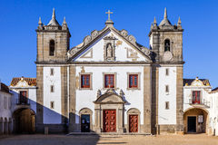 Baroque church in the Sanctuary of Nossa Senhora do Cabo Stock Photos