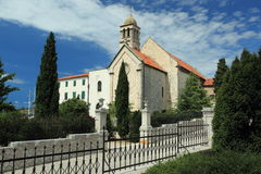 Baroque church in Sibenik Royalty Free Stock Image