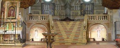 The baroque church of St Joseph in Brescia Royalty Free Stock Image