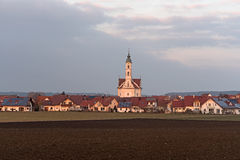 Baroque church Steinhausen, Southern Germany Stock Image