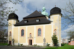 Baroque church of Sv. Vavrinec Royalty Free Stock Image