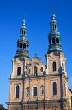 Baroque church towers Royalty Free Stock Images