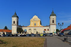 Baroque church in Tykocin Stock Photos