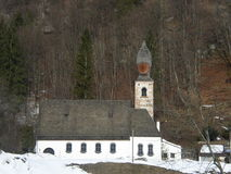 Baroque church in Tyrol Royalty Free Stock Photography