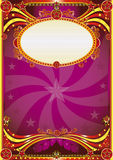 Baroque circus background Stock Images
