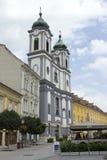 Cistercian church in Szekesfehervar, Hungary. The baroque Cistercian church in midtown Szekesfehervar, Hungary Stock Photo