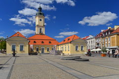 Bialystok old city hall Royalty Free Stock Images