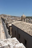 Baroque city of noto, overall view Royalty Free Stock Photos