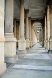 Baroque colonnade Stock Photo