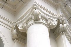 Baroque column detail Royalty Free Stock Photography