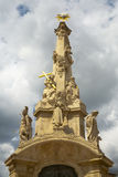 The baroque column. Stock Image