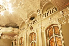 Baroque concert hall Stock Photos