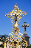 Baroque cross Royalty Free Stock Photography