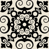 Baroque decorative ornament Stock Image