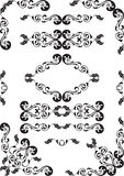 Baroque design set Stock Photo