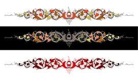 Baroque di colore illustrazione di stock