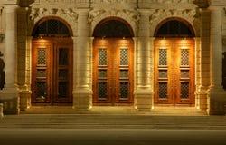 The Baroque Doors stock image