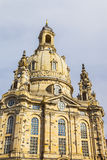 Baroque Dresden - Germany, Frauenkirche cathedral Royalty Free Stock Images