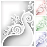 Baroque element Stock Photography