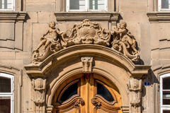 Baroque entrance - Bavarian Rococo architecrure Royalty Free Stock Images