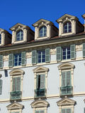 Baroque facade Royalty Free Stock Image