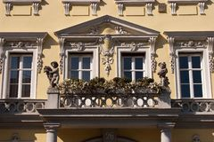 Baroque facade Royalty Free Stock Photo