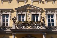 Baroque facade Royalty Free Stock Photo
