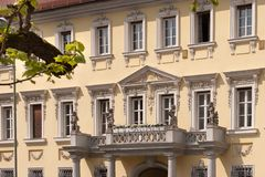 Baroque facade Stock Photo