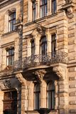 Baroque facade Stock Images
