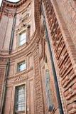 Baroque facade of Palazzo Carignano, Turin, Italy Royalty Free Stock Photo