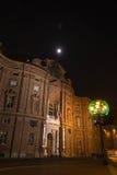 Baroque Facade of Palazzo Carignano, Turin Stock Photos