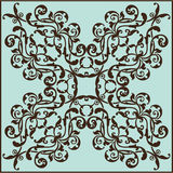 Baroque fine art element Royalty Free Stock Images