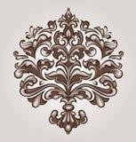 Baroque floral Stock Photos