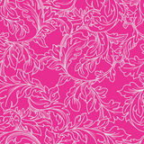 Baroque floral  pattern. Stock Photo