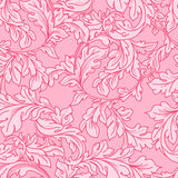 Baroque floral  pattern Stock Photography