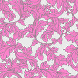 Baroque floral  pattern Stock Photo