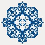 Baroque flower. Vector illustration of baroque flower Stock Image