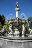Baroque fountain in Puebla, Mexico Stock Images