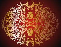 Baroque frame 01 Royalty Free Stock Photography