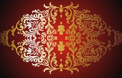 baroque frame royalty free stock images