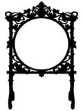 Baroque frame Stock Images