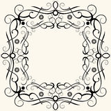 Baroque frame Royalty Free Stock Photo