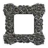Baroque frame roses Stock Photography
