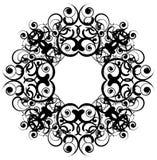 Baroque frame vector Royalty Free Stock Photos